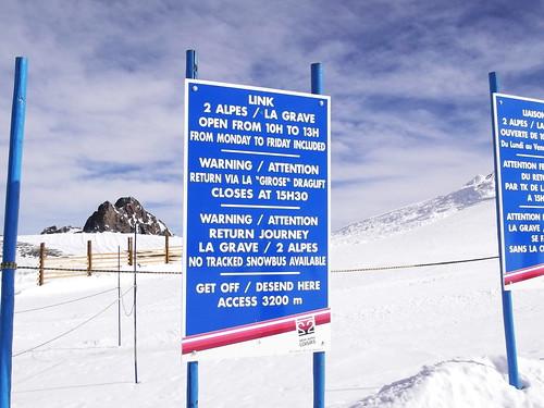 Dome de la Lauze (3568m) / Off road to La Grave