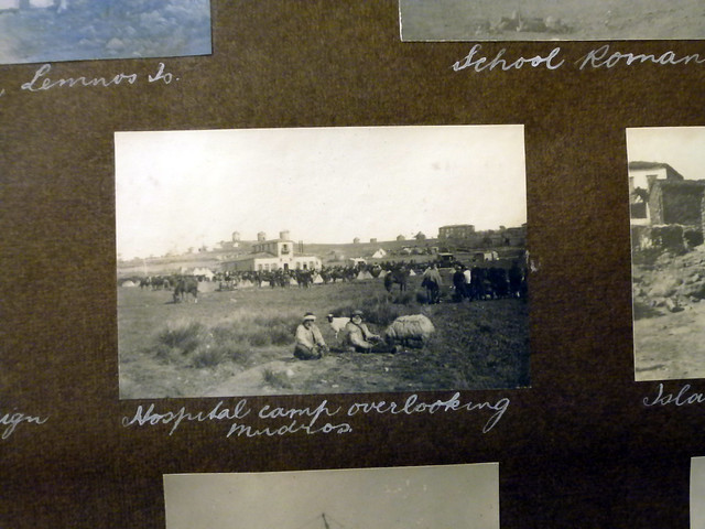 Hospital camp overlooking Mudros.