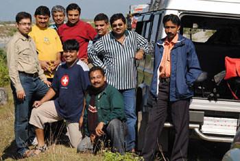 Ashish, Joy, Apurba, Subhasish, Subherjit, Ashish, Biswajit, Sujay & Myself