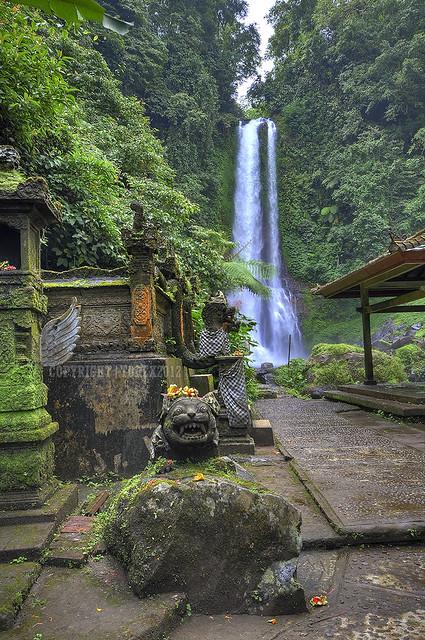 Git Git Waterfall, Bali, Indonesia.