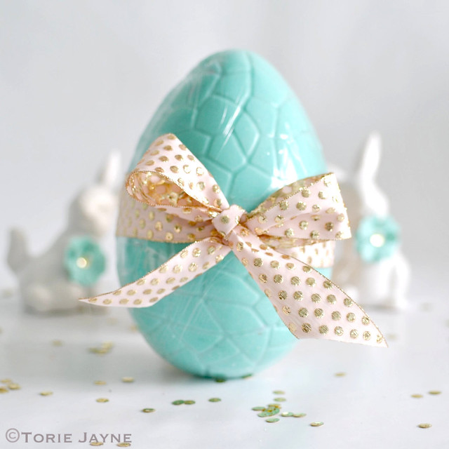 Hand made chocolate egg