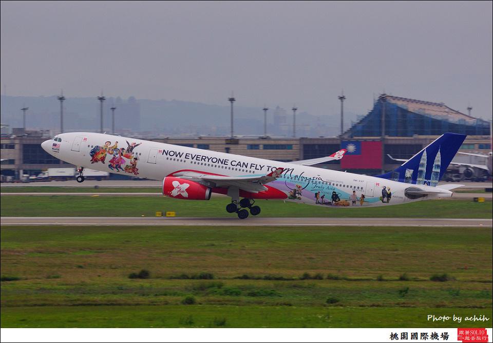 AirAsia X  9M-XXF客機009