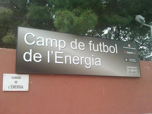 Camp de futbol de l'Energia by simonharrisbcn