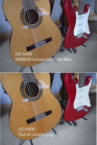 Olympus OM-D EM-5 Raw - ISO 6400