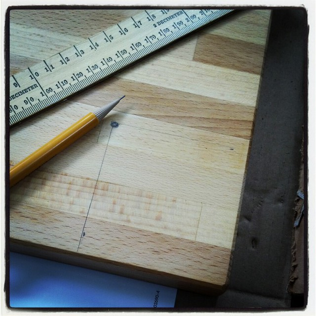 Solid wood desk - Step 1: Measure