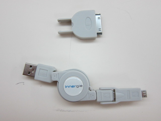 Innergie Magic Cable - 3-in-1 Retractable USB Cable - Box Contents