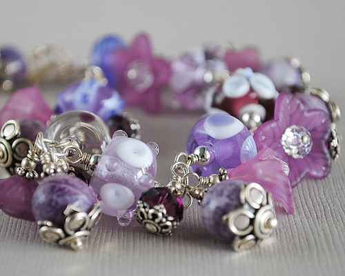 Lavendar Bracelet