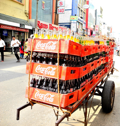 Drinks Cart - Pettah Market, Colombo - 2012 (by Queenie)