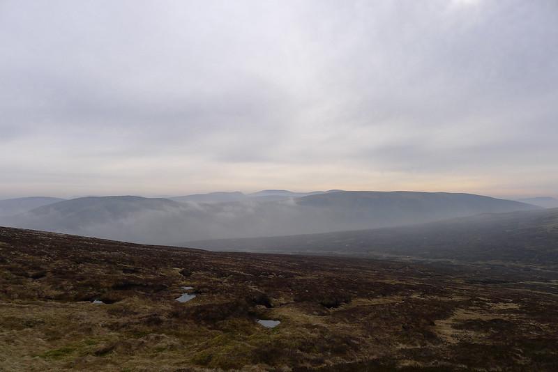 Mist over Beinn Mheadhonach