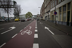Rotterdam Cycle Lane