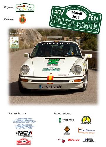 XIV Rallye Costa Azahar Classic 2012