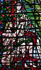 Adam and Eve  by John Hayward