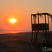 Life Guard Hut at Sunset - La Ventanilla Beach, Mexico