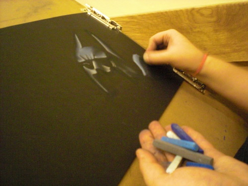 Project 365: 81/365 - Batman in Progress