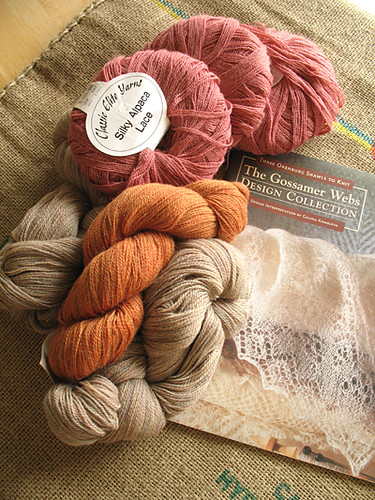 Lace Yarns and Book
