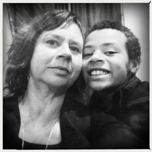 Mother and son. Day 115/366.