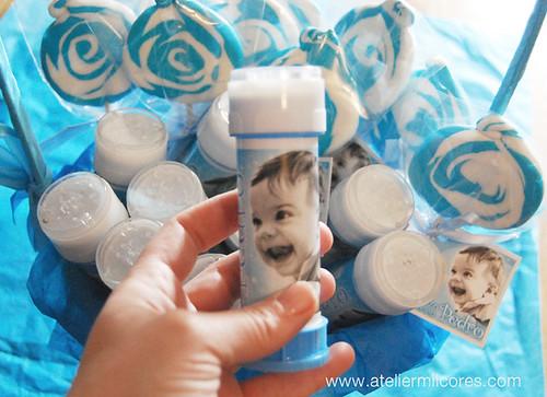 Brindes de Criança - Chupas e bolinhas de sabão