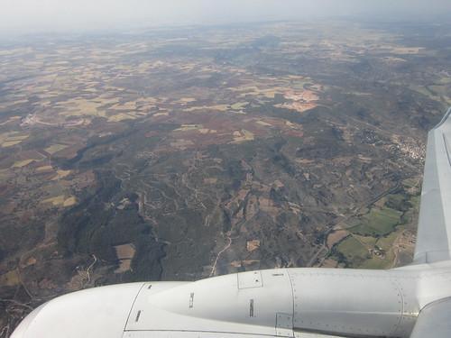 マドリードに向かうスペイン上空 2012年5月31日1847 by Poran111