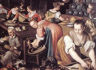 Vicenzo Campi: Market, 1580's Pinacoteca di Brera, Milan