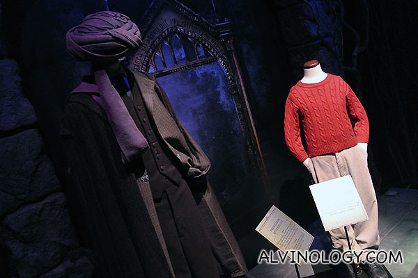 Lord Voldemort and young Harry's costume
