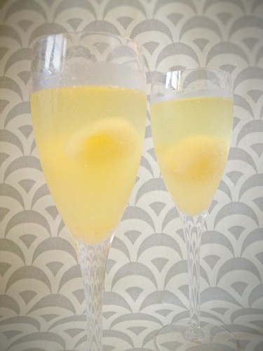 Champagne w Grapefruit-Elderflower 5