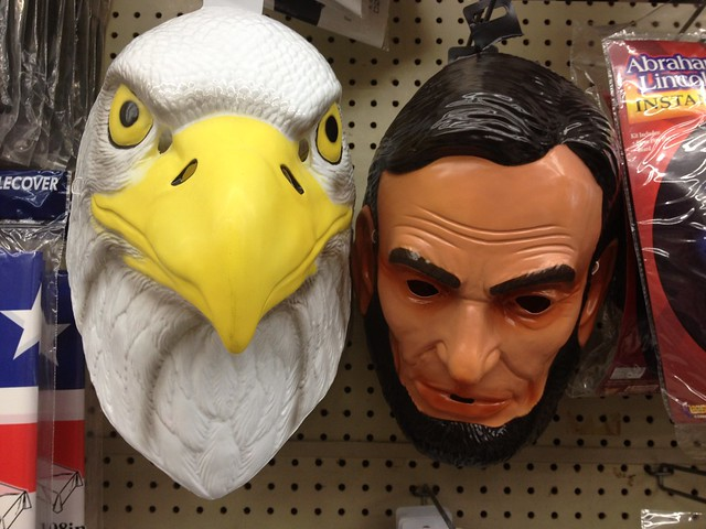 Fourth of July & Summer Products:Eagle Mask & Lincoln Mask