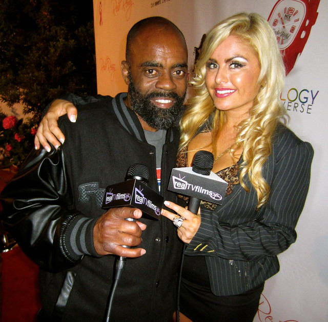 "Ricky Donnell Ross, also known as ""Freeway"" Rick Ross, Tia Barr , BET Awards Pre Party by KGPR, Hosted by Karlie Redd"