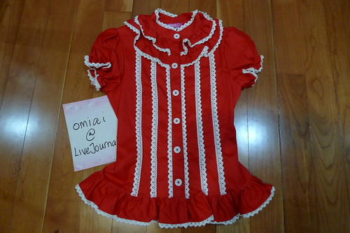 Loli Sale - Offbrand Red Blouse