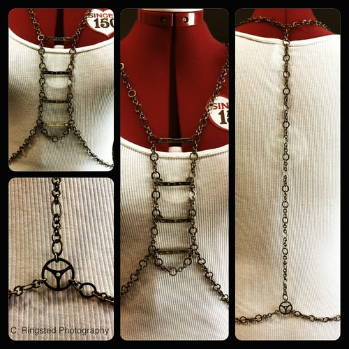 DIY: Body Harness With Breast Plate by Sanctuary-Studio