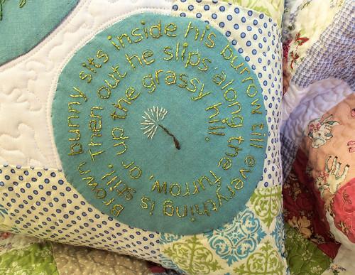 Dandelion Bunny Embroidery(1)