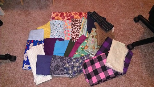 Flannel stash 7/8/13 by teawithfrodo