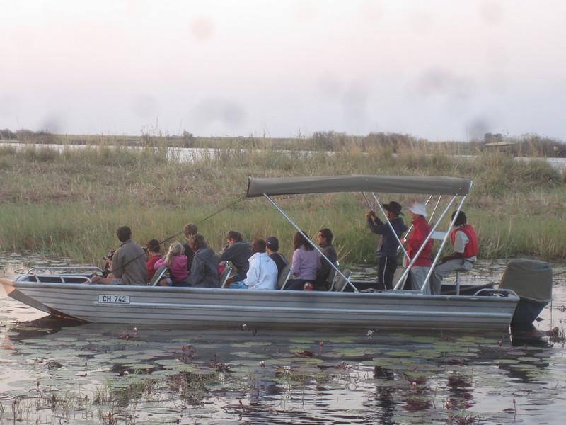 Chobe Botswana Tourists Africa