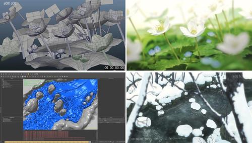 120711(1) - 劇場版《おおかみこどもの雨と雪 (狼的孩子雨和雪)》將在8/10台灣獻映,CG背景美術製作花絮搶先看!