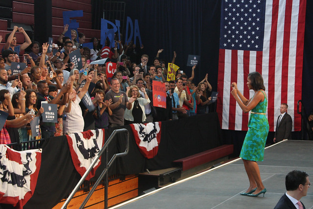 First Lady Michelle Obama in Miami