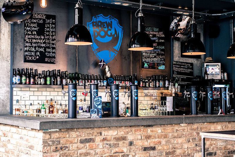Brewdog Pub in Camden Town, London