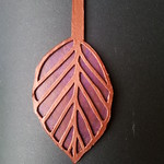 Copper beech leaf prototype