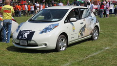 automobile, vehicle, electric car, city car, land vehicle, electric vehicle, hatchback,