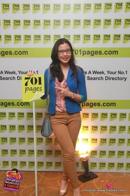 Lisa Surihani www.701pages.com launch