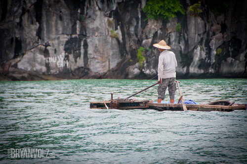 Halong Bay fishing