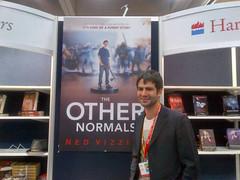Ned Vizzini at Comic-Con 2012