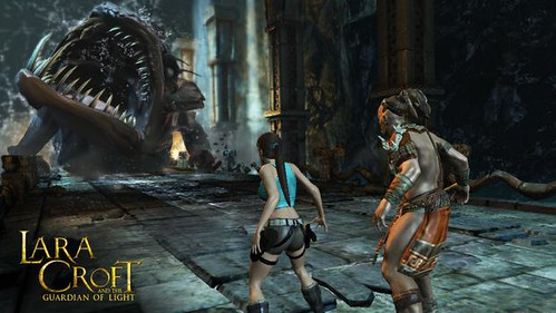 Lara Croft and The Guardian of Light Released On Android