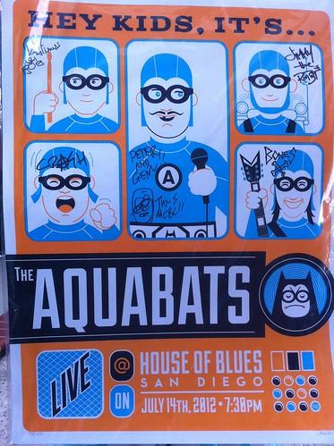 Aquabats Poster