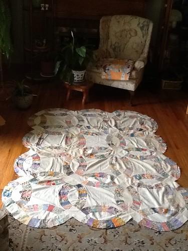My Grandma Lulu's mother's quilt blocks