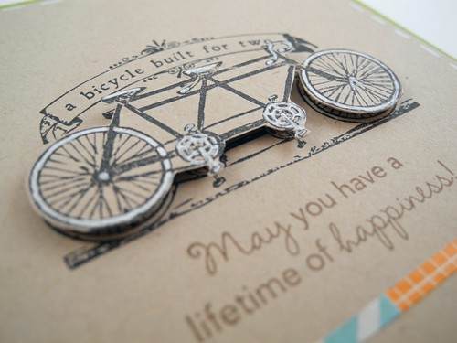 Happiness on a Bicycle Built for Two (detail)
