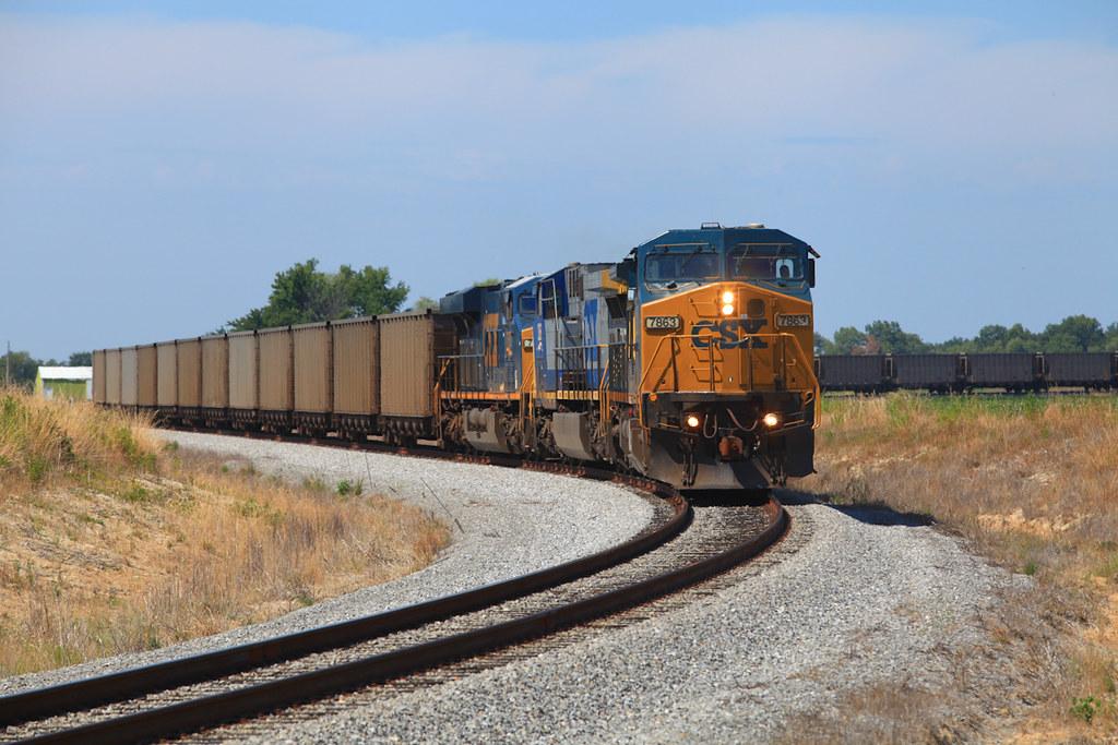 CSX 7863 EVWR HSH1 Delafield IL 22 Jul 2012