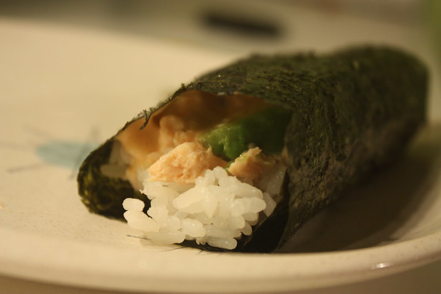 Salmon Avo Seaweed Wrap