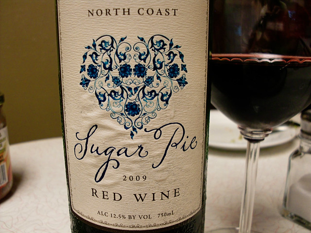 Sugar Pie Red Wine