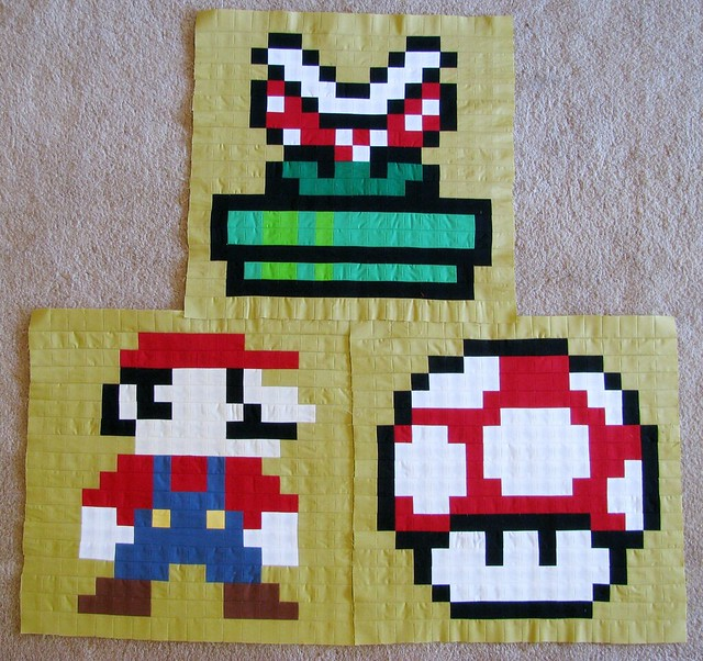 Mario: 3 Blocks