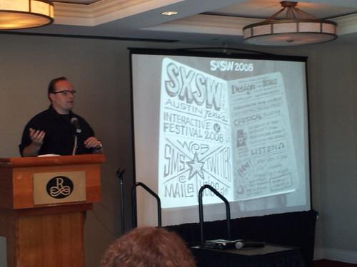 @mikerhode at @IFVP2012 on the evolution of #sketchnotes