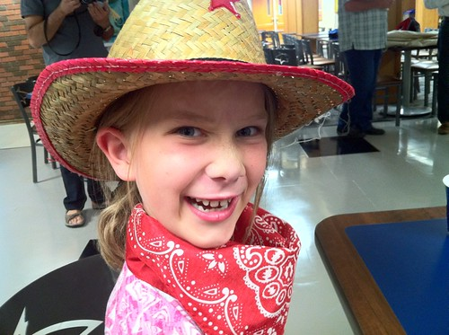 Rachel is fired up for the DEN Hoedown!